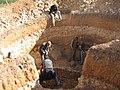 Construction de digesteurs pour une ferme, école et mosquée à Dayet Ifrah, Maroc (13244458575).jpg