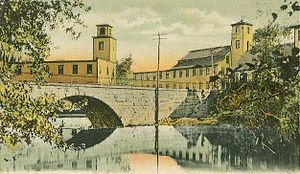 Hillsborough, New Hampshire - Contoocook Mills in 1907