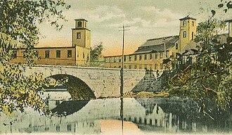 Hillsborough, New Hampshire - Contoocook Mills in 1907