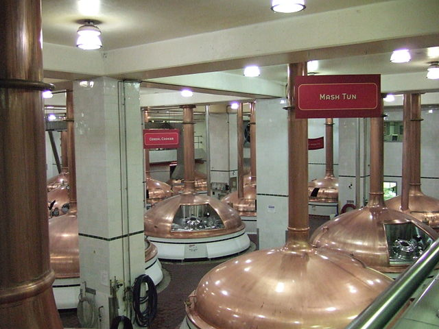 Inside the Coors Brewery in New England