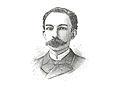 Copia a pluma de un retrato de José Martí, 1890.jpg