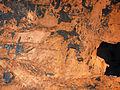 Copper sheet (Mesoproterozoic, 1.05-1.06 Ga; White Pine Mine, Ontonagon County, Upper Peninsula of Michigan, USA) 2 (17276645006).jpg