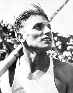 Cornelius Warmerdam American Pole Vaulter, coach