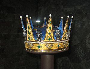 Charles XIII of Sweden - Coronet created for Prince Charles and worn at his brother Gustav's coronation in 1772.