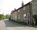 Corpusty - flint and brick cottages - geograph.org.uk - 1257391.jpg