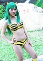 Cosplayer of Lum Invader from Urusei Yatsura 20090221 3.jpg