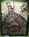 Costa del nord.ovest, sitka, tlingit, armatura in cuoio da guerra, xix sec.JPG