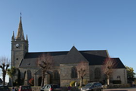L'église Saint-Thuriau.