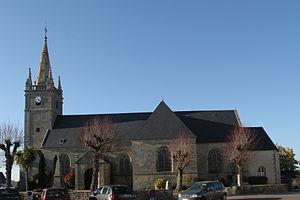 Crac'h - The church of Saint-Thuriau, in Crac'h