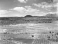 Crater Hill lava flow near southwest corner of Zion. ; ZION Museum and Archives Image ZION 8960 ; ZION 8960 (a8747d97da864f93bd55f500e5e20433).tif