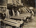 Crescent Bed Co by Covert, New Orleans - Workers Making Side Rails.jpg