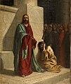Cristo y la mujer adúltera, de Domenico Morelli (Museo del Prado).jpg