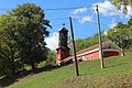 Crkva posvećena Vaznesenju Gospodnjem Spasovdanu u Medveđi 03.jpg