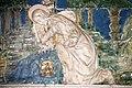 Crocifissione di Gesù, con ai piedi la Maddalena piangente e quattro angeliche raccolgono con i calici il sangue di Gesù attr. a Santi Buglioni, 05.jpg