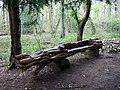 Crocodile seat in Leigh Woods - geograph.org.uk - 764762.jpg