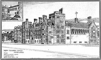 Crosby Hall, het voormalige huis van Thomas More