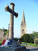 Cross and Cathedral, Llandaff - geograph.org.uk - 976417.jpg