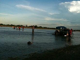 Mechi River - Image: Crossing Mechi River