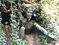 Crouch End Hill Bridge - statue in an arch - geograph.org.uk - 1621452.jpg
