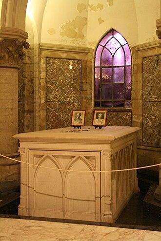 Royal Crypt (Belgium) - Albert I and Elisabeth of Bavaria