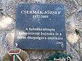 Csermák József emléktábla (2001), 2019 Tapolca.jpg