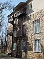 Csillebérc Leisure Centre. International School of Budapest (ISB). East building. Stairs. - Budapest.JPG