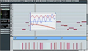 Audio sequencer - A typical music sequencer (on Steinberg Cubase)