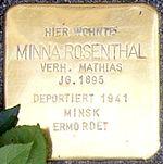 Cuxhaven Stolperstein Minna Rosenthal.jpg