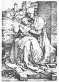 Dürer - Maria mit dem Kind an der Mauer.jpg