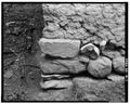 DETAILED VIEW OF ROCK AT BASE - Daniel Winter House, Goodrich, Sheridan County, ND HABS ND,42-GORI.V,1-7.tif