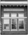 DETAIL OF WINDOW, SOUTH FRONT - Edward S. Bragg School, 149 East First Street, Fond du Lac, Fond du Lac County, WI HABS WIS,20-FONDU,1-8.tif