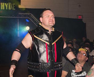 CZW Hall of Fame - Image: DJ Hyde at Smash Wrestling