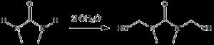Dimethylol ethylene urea - DMEU synthesis