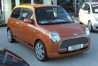 Daihatsu Mira Gino - Image: Daihatsu Trevis GT front