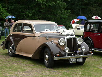 Daimler New Fifteen - One-off Dolphin 4-door sports saloon by Charlesworth 1940