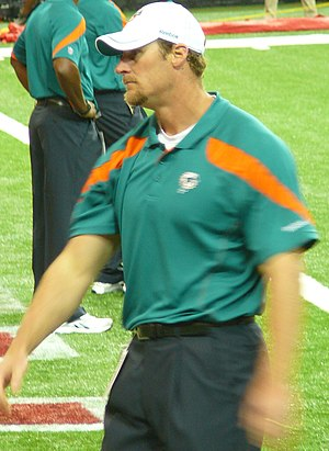 Dan Campbell - Campbell as part of the Dolphins coaching staff in 2011