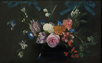 Daniel Seghers - Flower garland