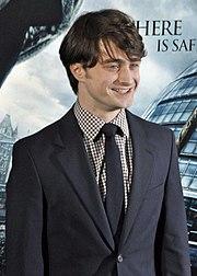 Daniel Radcliffe à la première de Harry Potter et les Reliques de la Mort partie 1