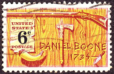 Daniel Boone, 1968 issue Daniel Boone2 1968 Issue-6c.jpg