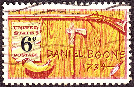 Daniel Boone2 1968 Issue-6c