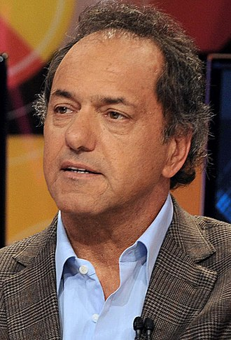 Argentine general election, 2015 - Image: Daniel Scioli June 2015
