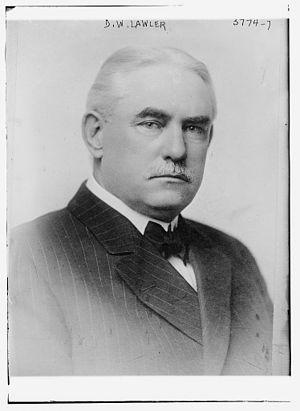 United States Senate election in Minnesota, 1916 - Image: Daniel William Lawler (March 28, 1859 September 15, 1926) in 1915