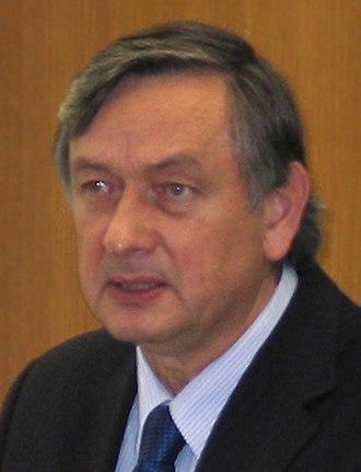 2007 Slovenian presidential election - Image: Danilo Turk NIB 2