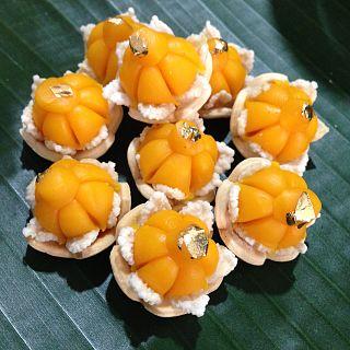 Thong ek Thai dessert