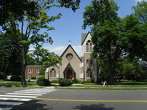 Darien, Connecticut - Church in Darien.