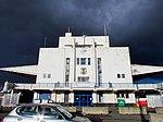 Dark Clouds over the Elmdon Building, Birmingham International Airport-16295150042.jpg