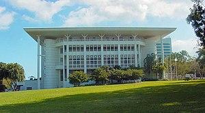 The legislative assembly building in Darwin.