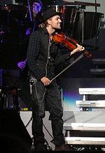 Garrett in concerto a Colonia nel 2010