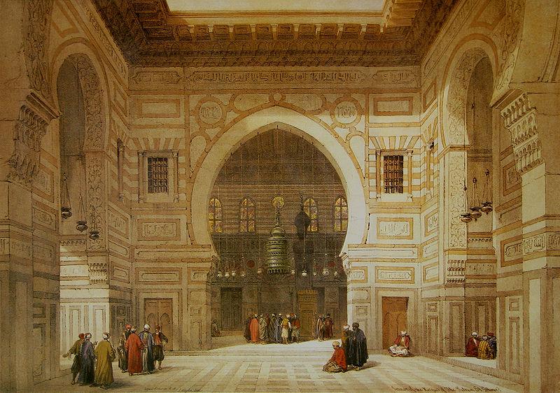 File:David Roberts El Ghoree Mosque.jpg