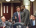 David Silvers and Byron Donalds confer on the House floor.jpg